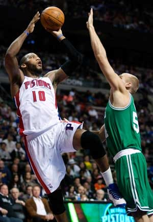 Pistons beat Celtics 96-81 for 7th win in 9 games