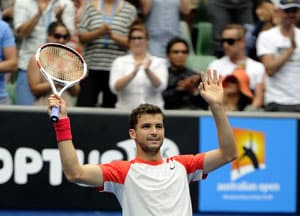 Australian Open: 'Baby Fed' Grigor Dimitrov makes a name for himself
