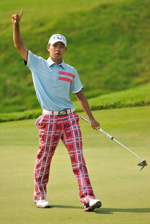 Guan struggles to 77 but still enjoying Masters