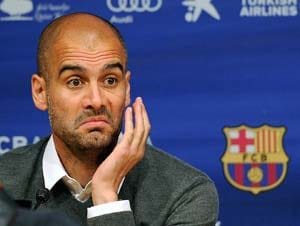 Guardiola bitter over Barca Champions League flop