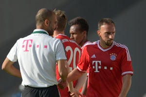 Pep Guardiola's Bayern Munich 'labour' to 4-0 win against minnows Rostock