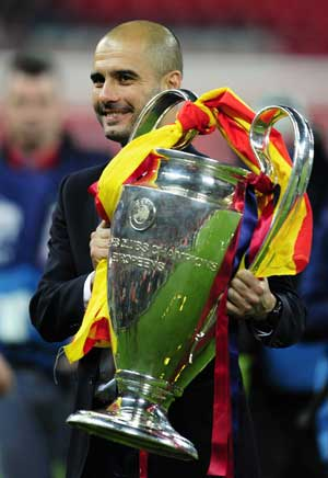 Guardiola aims to end Barcelona reign with cup win