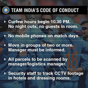 ICC Champions Trophy: Life in a cocoon and India's private bodyguards!