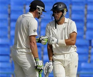 New Zealand 232/4 at close against West Indies
