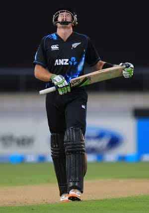 Martin Guptill ruled out of England series with thumb injury