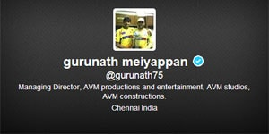 Spot-fixing: India Cements clarifies Gurunath Meiyappan's role with Chennai Super Kings