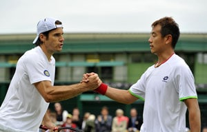 Wimbledon 2013: Revitalised Tommy Haas ends Jimmy Wang