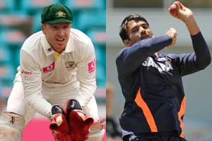 Zaheer, Haddin in a war of words before the 3rd Test