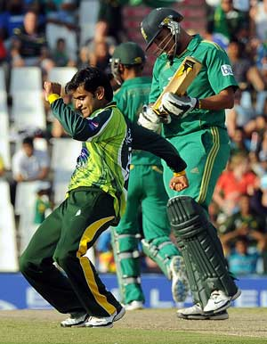 2nd T20: Pakistan win by 95 as Mohammad Hafeez, Umar Gul wreck SA