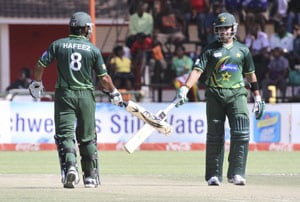 2nd T20: Pakistan win despite a counter-attack