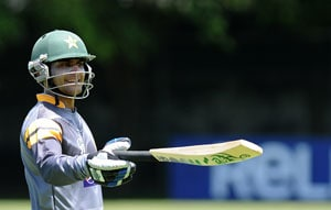 Mohammad Hafeez admits form is a concern