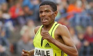 London 2012 Marathon: 'Painful' not to be running, says Haile Gebrselassie