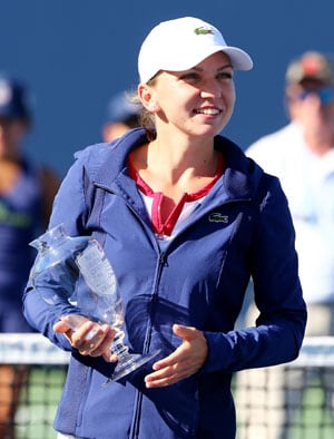 Simona Halep tunes up for US Open with WTA New Haven title