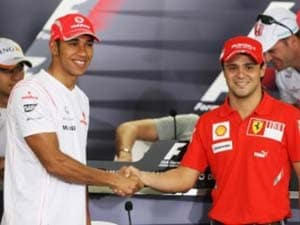Massa vows to 'put lid' on Hamilton row