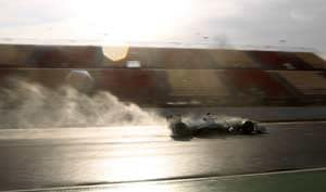 Mercedes' Lewis Hamilton fastest in Barcelona tests