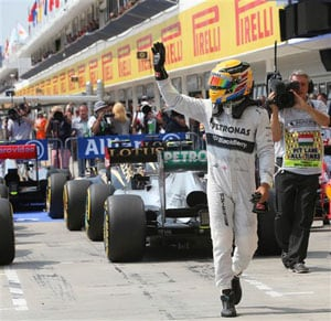 Spanish Grand Prix: Lewis Hamilton on Pole as Mercedes Sweep Front Row