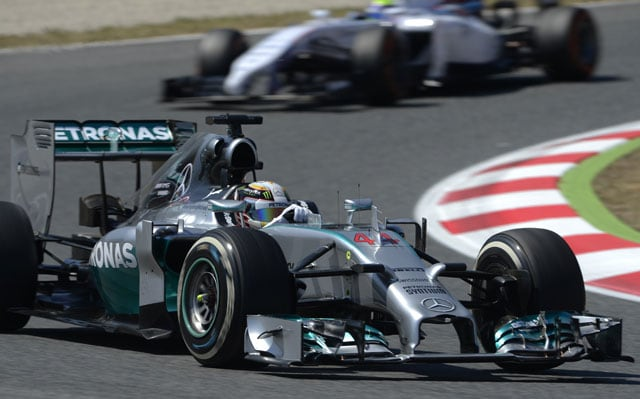 Spanish Grand Prix: Lewis Hamilton on Top Again in Second Practice