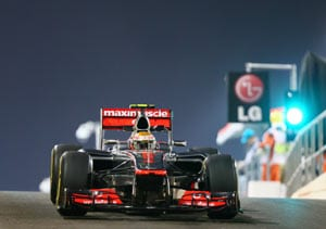 Lewis Hamilton plays down Abu Dhabi pole chance