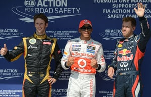 Lewis Hamilton on pole for revived McLaren