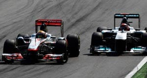 Hamilton blasts 'ridiculous' Schumacher drive