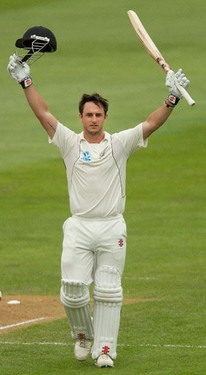 Hamish Rutherford plays down dazzling ton on debut