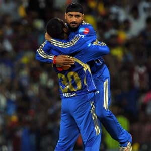 CLT20: Harbhajan Singh brought us back into the game, says Rohit Sharma