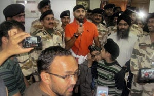 Harbhajan Singh rescued by Indian Air Force