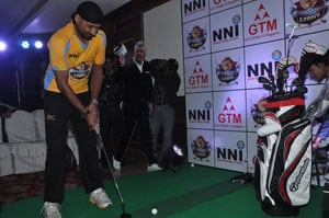 Golf Premier League will help in making sport popular: Harbhajan
