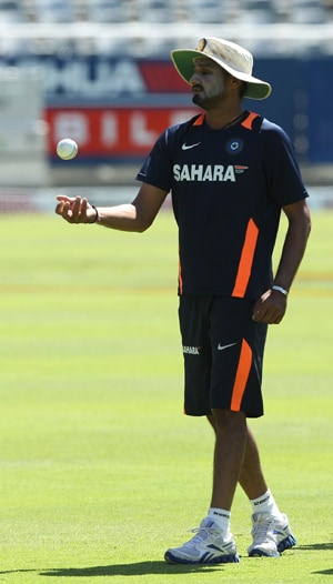 Harbhajan dropped for first two ODIs against England