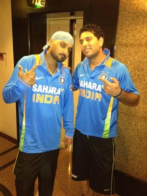 Another day's wait for Yuvraj, Harbhajan