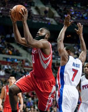 Houston Rockets beat Detroit Pistons 105-96