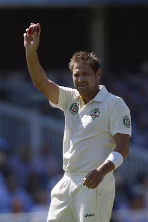 The Ashes: Ryan Harris in 'drunken' Twitter rant