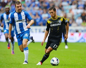 Eden Hazard won't be kicked out of games, says Di Matteo