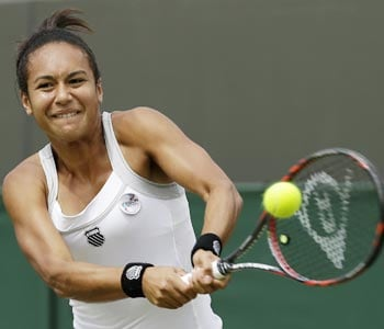 Heather Watson ends Britain
