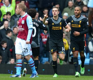 Liverpool comeback leaves Villa in peril