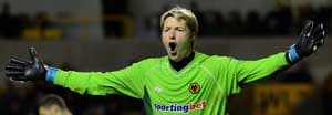 Wolves keeper Hennessey out for six months