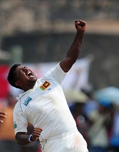 Rangana Herath pips Kumar Sangakkara to claim Sri Lanka Cricketer of year award