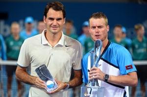 Roger Federer stunned by Lleyton Hewitt in Brisbane International final