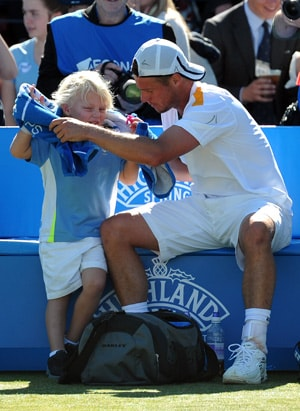 Ageless Lleyton Hewitt eyes more Queen's glory