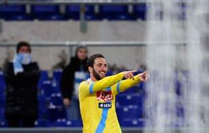 Serie A: Gonzalo Higuain hits brace as Napoli sink Lazio