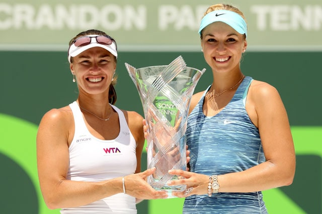 Martina Hingis clinches doubles crown at Miami, wins first title since 2007