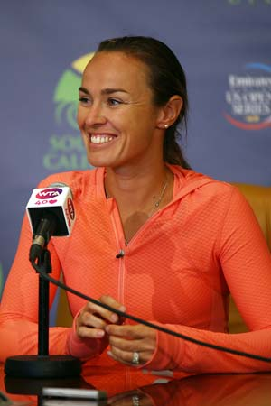 Martina Hingis says singles not in comeback plans