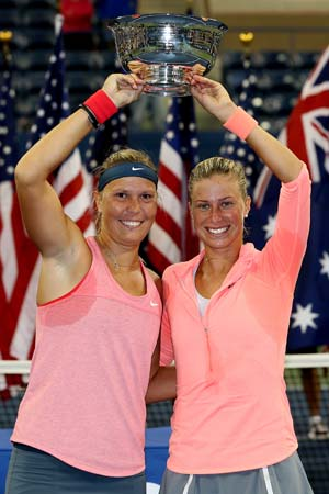 US Open: Czech women down Aussie duo to win doubles title