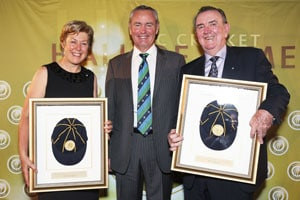 Debbie Hockley, Bob Simpson inducted in the ICC Cricket Hall of Fame