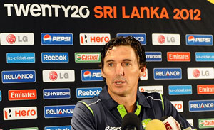 Sri Lanka pace attack 'worst ever': Brad Hogg