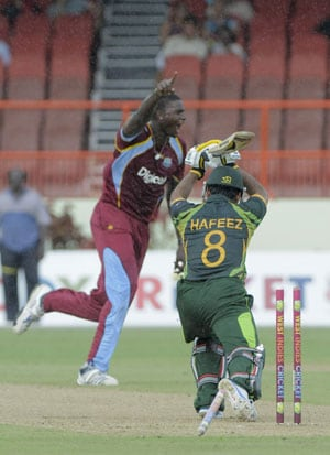 3rd ODI: Jason Holder guides West Indies to thrilling tie versus Pakistan