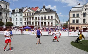 Euro 2012: Homeless in Poland gear up for own World Cup