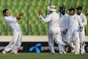 2nd Test: Bangladesh strike after being pushed