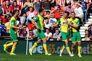 Norwich's Jonathan Howson smites sluggish Stoke