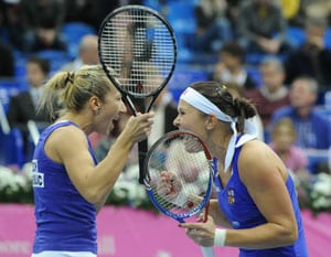 Czech doubles duo seal Fed Cup victory